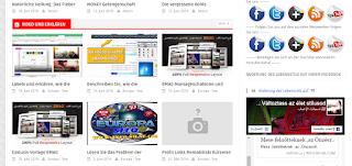 Erklären Sie die Installation der Web-Site-Vorlage oder einen kostenlosen Blog
