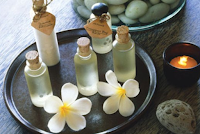 Aromaterápiás illóolaj keverékek
