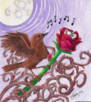 Egész éjszaka énekelt tövissel a keblében
