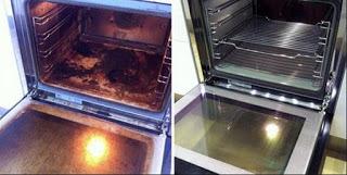 Tisztító paszta házilag ,a sütő szennyeződést dörzsölés nélkül tisztíthatod